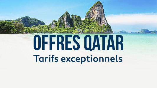 Offres Qatar Airways