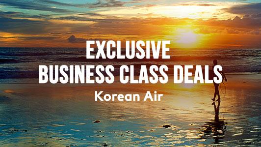 Special business class offer