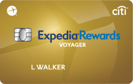 Expedia Rewards Voyager Card