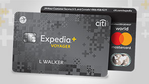 Expedia Rewards credit card