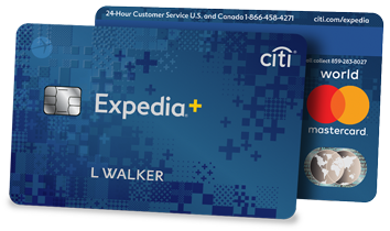 Expedia Rewards Citi Cobrand No Fee Mastercard