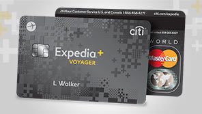 Expedia<sub>&reg;</sub>+ credit card