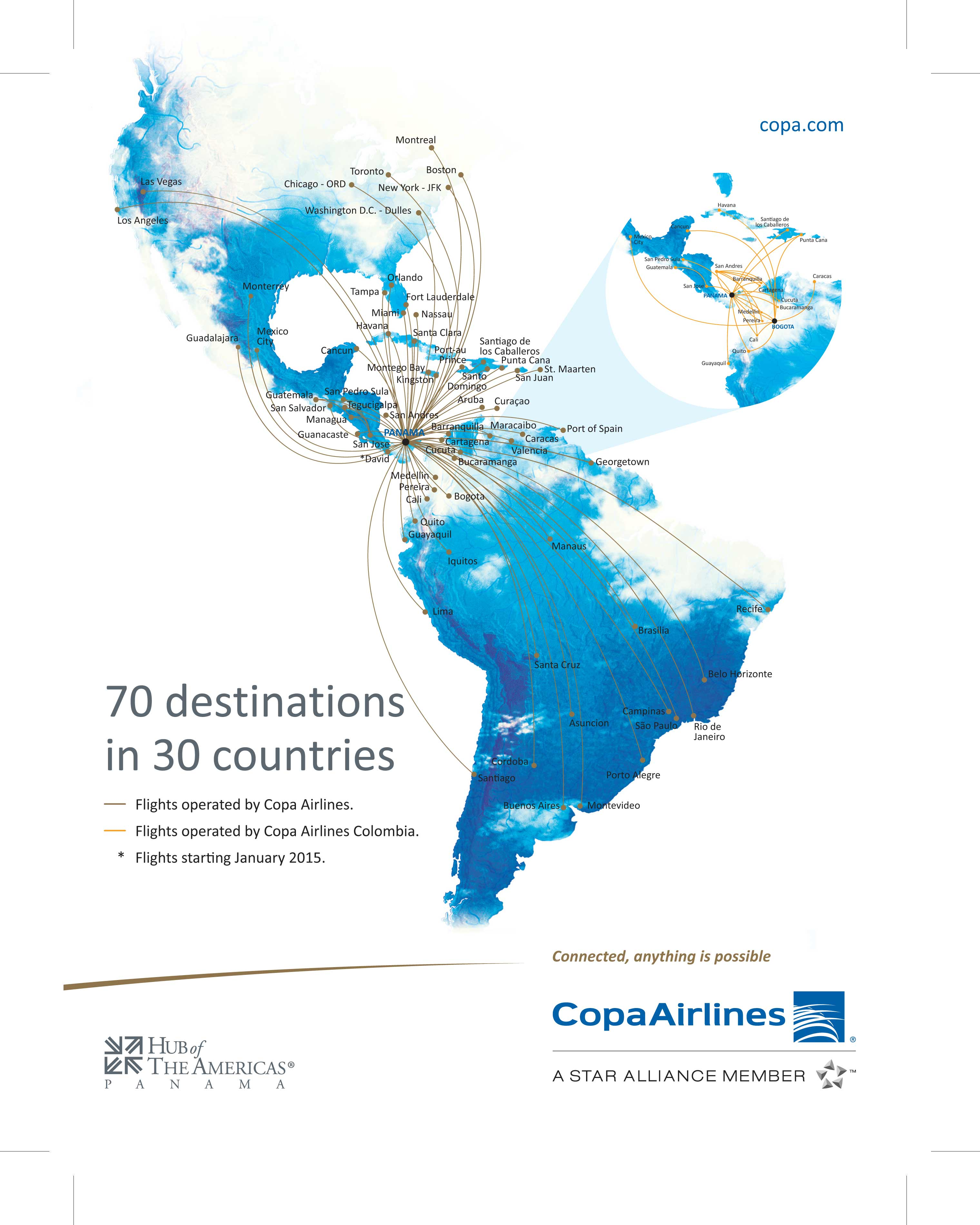 Copa Airlines Deals  Spotify Coupon Code Free - Us airways location map