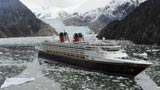 The Disney Wonder in Alaska
