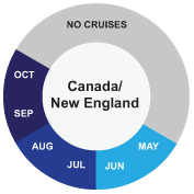 Canada/New England cruise info