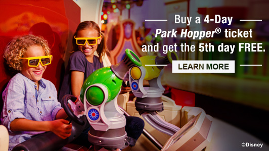 Limited-Time Offer on Walt Disney World® Theme Park Tickets