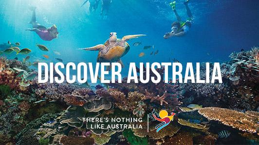 Dive in and Explore Australia.