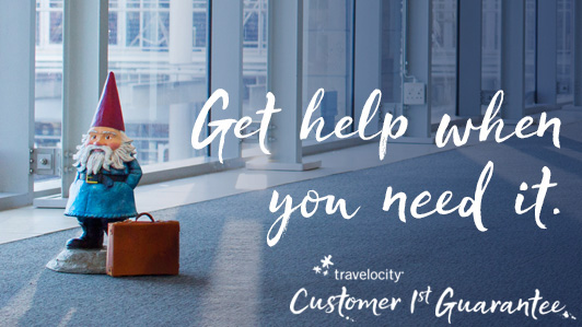 24/7 Social Media Support via @TravelocityHelp