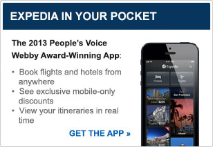 The Expedia App puts your itinerary in your pocket