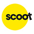 Scoot with baggage logo