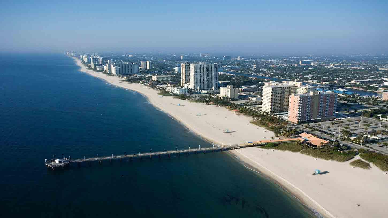 Pompano Beach Fl To Miami Fl