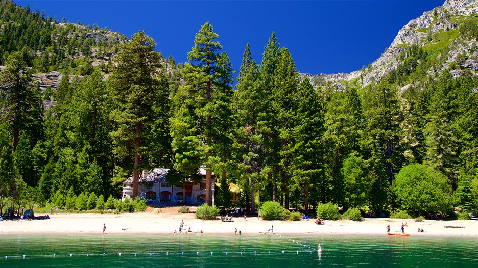 emerald bay state park in south lake tahoe  california