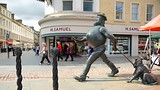 Desperate Dan Statue - Dundee - Tourism Media