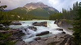 Athabasca Falls - Jasper National Park - Tourism Media