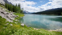 Medicine Lake - Jasper National Park