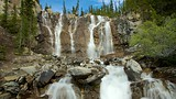 Tangle Falls - Jasper National Park South Entrance - Tourism Media