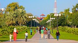 Showing item 21 of 30. Al Mamzar Beach Park - Dubai - Tourism Media