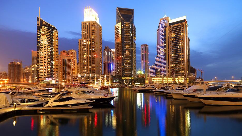 Dubai marina in dubai emirate expedia for Luxury travel in dubai