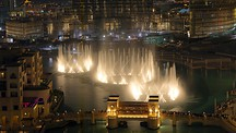The Dubai Fountain - Dubai Emirate