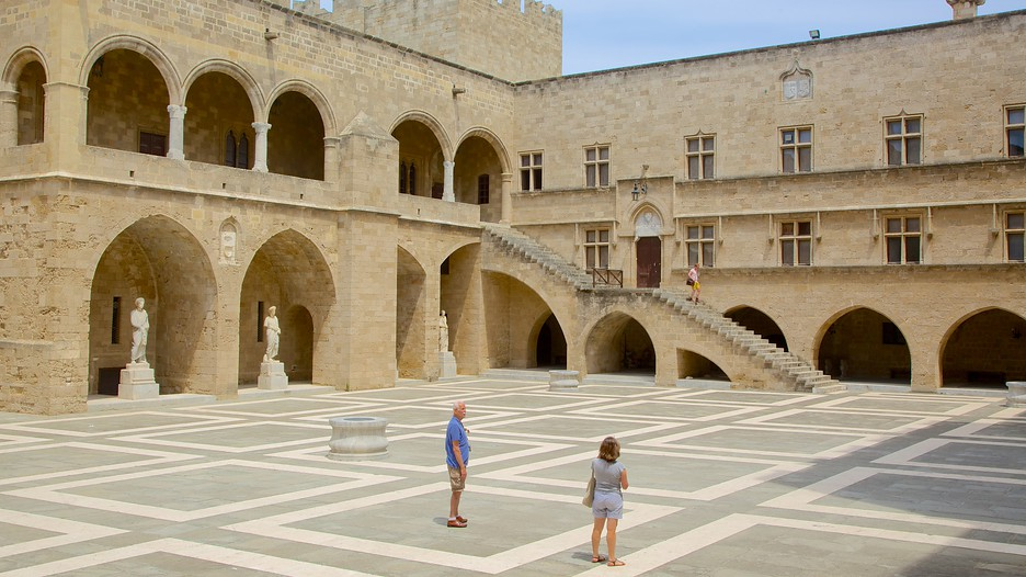 Palace of the Grand Master of the Knights of Rhodes in ...