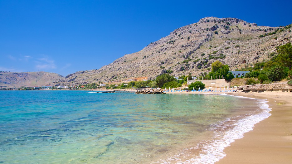 Pefkos Beach In Rhodes Expedia