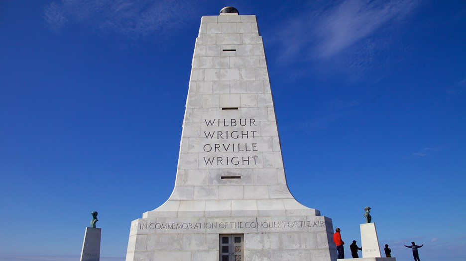 Wright Brothers National Memorial In Kitty Hawk North