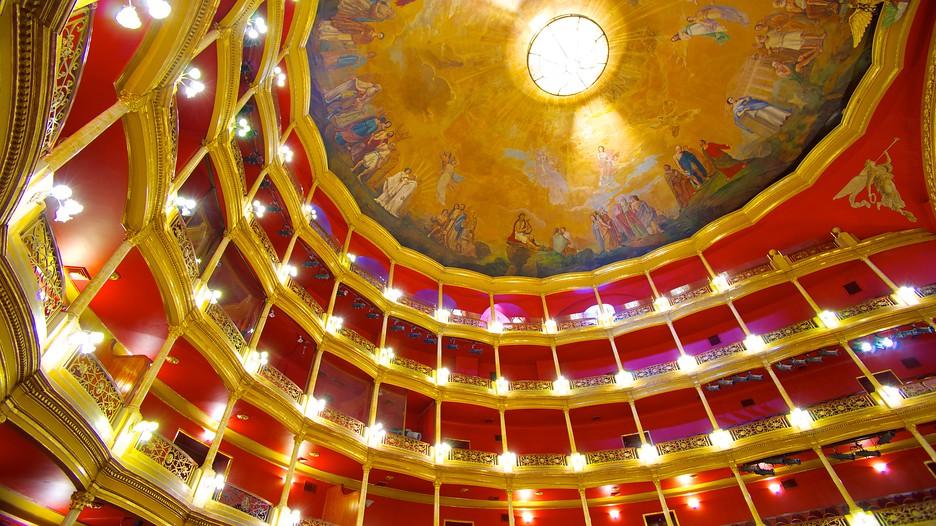 Degollado theater in guadalajara jalisco expedia for El mural guadalajara