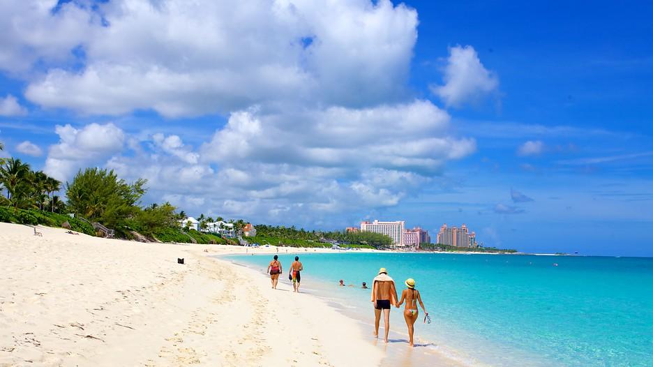Cabbage Beach In Paradise Island,