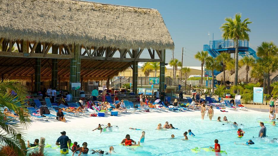 Galveston Schlitterbahn Waterpark In Houston, Texas