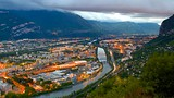 Grenoble-Bastille Cable Car - France - Tourism Media
