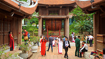 Temple of Literature - Hanoi