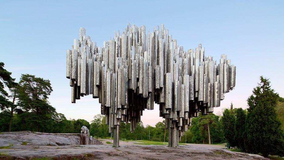 Sibelius Monument In Helsinki Expedia