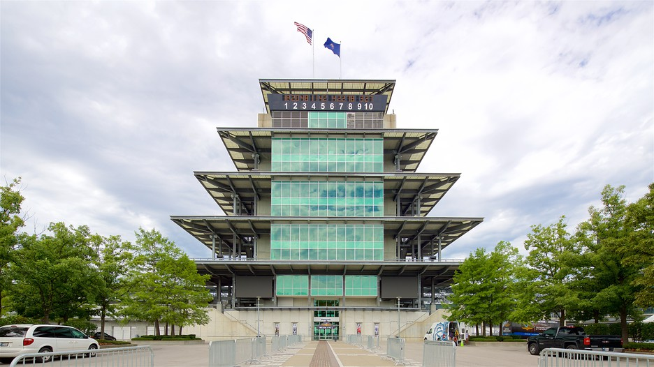 Indianapolis Motor Speedway In Indianapolis, Indiana