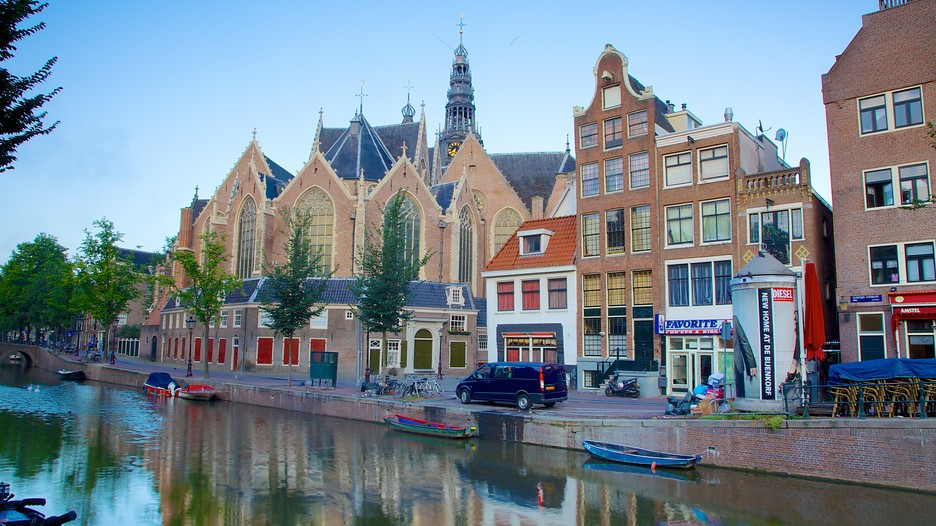 destinations europe netherlands amsterdam sights red light district