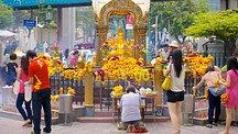 Erawan Shrine - Bangkok (med omnejd)