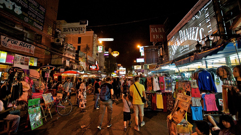 Khao San Road In Bangkok Bangkok Expedia Ca