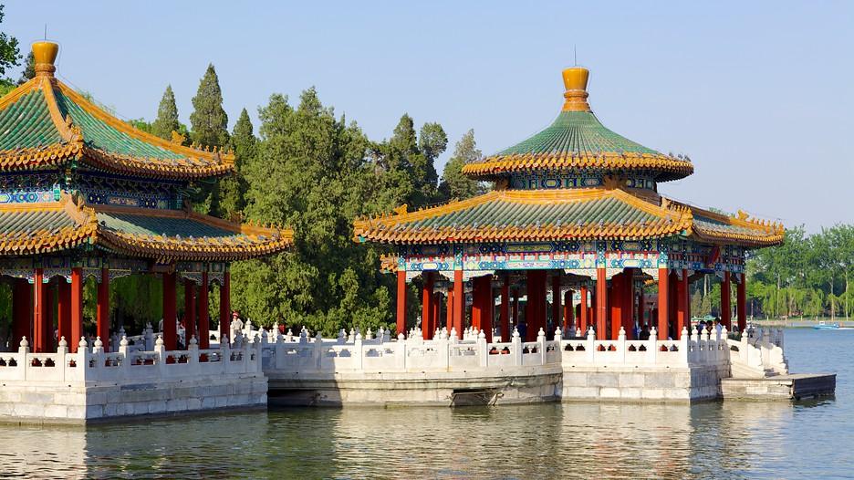 Resultado de imagem para lago Beihai pequim