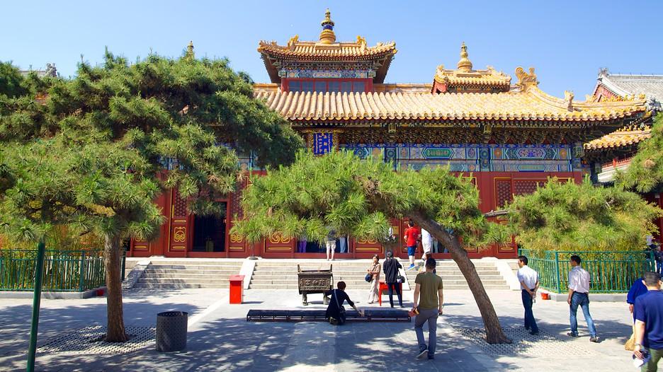 Resultado de imagem para Templo do Lama beijing