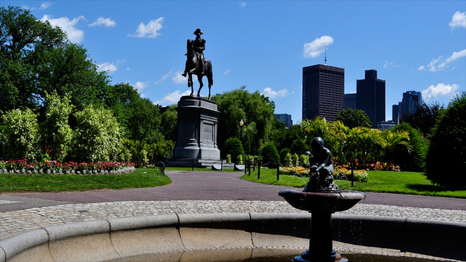 Boston Public Garden in Boston Massachusetts Expedia