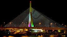 Zakim Bunker Hill Bridge - Boston