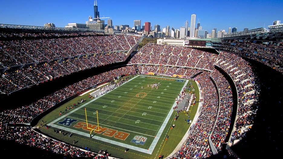 soldier field in chicago illinois expedia. Black Bedroom Furniture Sets. Home Design Ideas