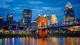 John A. Roebling Suspension Bridge - Cincinnati (et environs) - Tourism Media