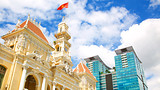 Showing item 48 of 89. Ho Chi Minh City Hall Square - Ho Chi Minh City - Tourism Media