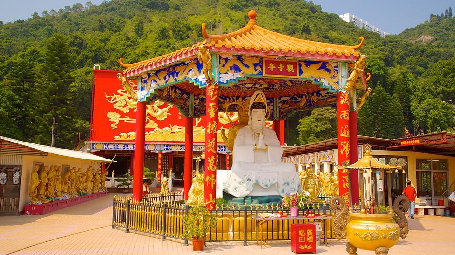 Monastère des 10 000 Bouddhas : Découvrez Hong Kong avec Expedia.fr
