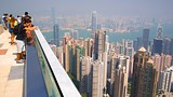 Showing item 24 of 33. Victoria Peak Tower - Hong Kong - Tourism Media