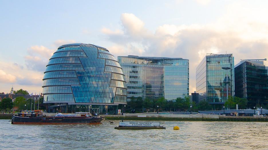 London city hall d couvrez londres avec for Hotel de ville de londres architecture