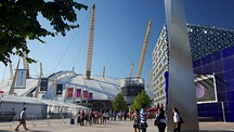 O2 Arena - London (med närområde)