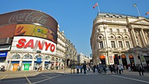 Piccadilly Circus - London (og omegn)
