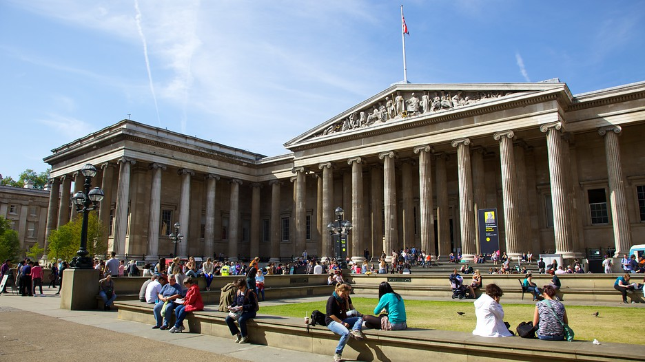 Oh my lylie The British Museum This colossal treasure chest houses some of the world's most precious artefacts.