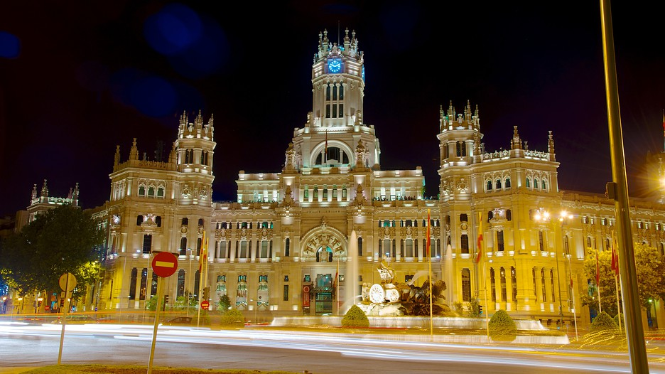 City Hall In Madrid